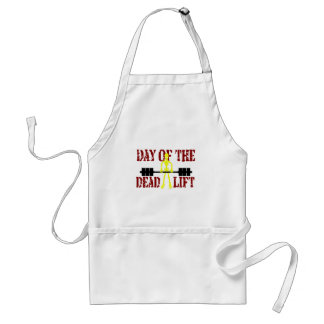 Day Of The DeadLift Adult Apron