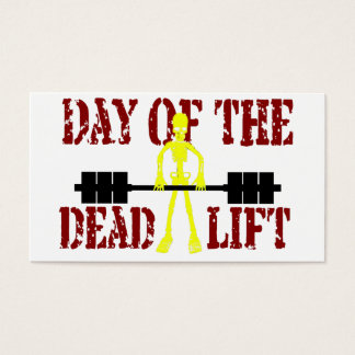 Day Of The DeadLift Business Card