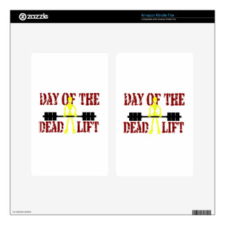 Day Of The DeadLift Decals For Kindle Fire