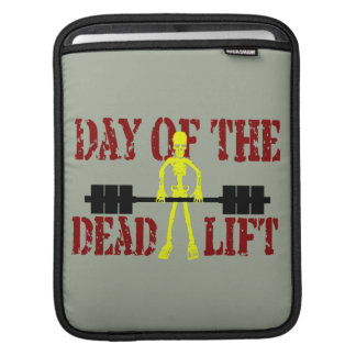 Day Of The DeadLift iPad Sleeve