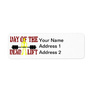 Day Of The Deadlift Label