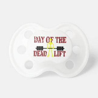 Day Of The DeadLift Pacifier