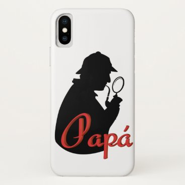 Day of the father iPhone XS case