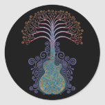 Day of the Guitree Classic Round Sticker