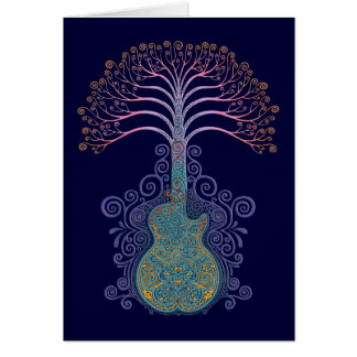 Day of the Guitree Greeting Card