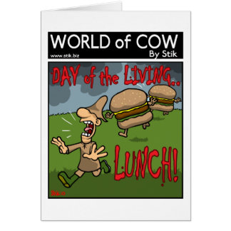 Day of the Living Lunch! Card