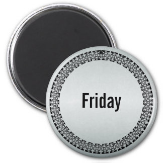 Day of the Week Friday Refrigerator Magnet