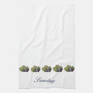 Day of the Week Towel - Sunday
