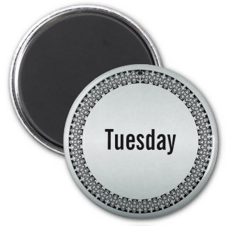 Day of the Week Tuesday Refrigerator Magnets