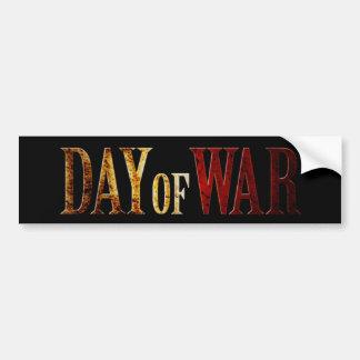 Day of War Bumper Sticker
