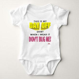 Day Off Baby Bodysuit