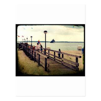 Day on the beach postcard