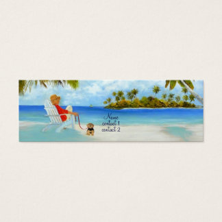 'Day On The Beach' Profile card