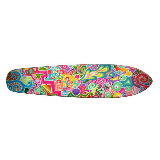 Day! Original Abstract Art/Design Skateboard