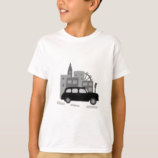 Day Out in London Taxi Scene T-Shirt