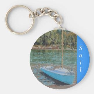 Day Sail key chain