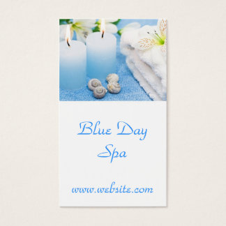 Day Spa Business Card