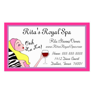 Day Spa Business Cards