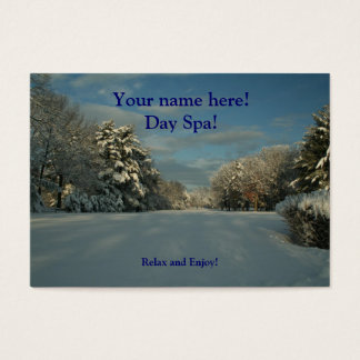 Day Spa business Cards! Business Card