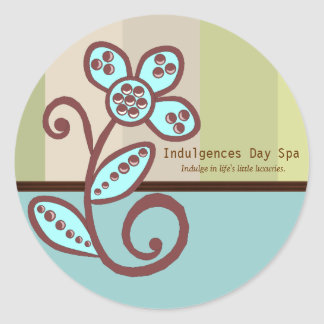 Day Spa Business Sticker
