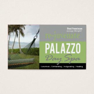 Day Spa Massage Therapist Aromatherapy Business Card