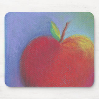 Day Thirty five - Red Pastel Mouse Pad