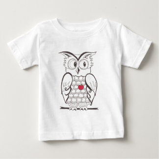 Day Thirty seven - hoo - Who? Baby T-Shirt