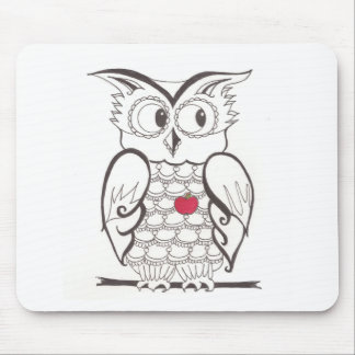 Day Thirty seven - hoo - Who? Mouse Pad
