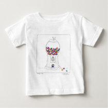 Day Thirty two - Gum Ball Machine Baby T-Shirt