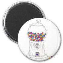 Day Thirty two - Gum Ball Machine Magnet