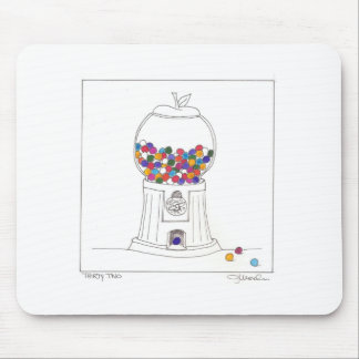 Day Thirty two - Gum Ball Machine Mouse Pad