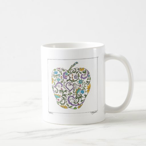Day Three - Sweet Doodle Coffee Mug
