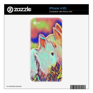 Day Time Dwarf Bunnies iPhone 4 Skin