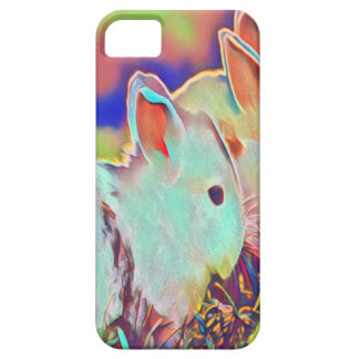 Day Time Dwarf Bunnies iPhone SE/5/5s Case