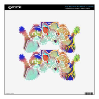 Day Time Dwarf Bunnies PS3 Controller Decal