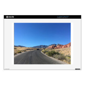 """Day trip through Red Rock National Park 15"""" Laptop Decal"""