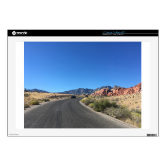 """Day trip through Red Rock National Park Decal For 17"""" Laptop"""