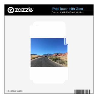 Day trip through Red Rock National Park iPod Touch 4G Skins