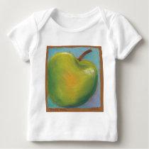 Day Twenty Three - Green Pastel Baby T-Shirt
