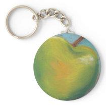 Day Twenty Three - Green Pastel Keychain
