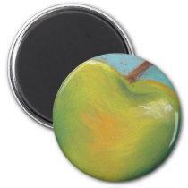 Day Twenty Three - Green Pastel Magnet