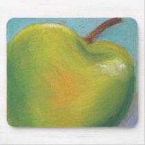 Day Twenty Three - Green Pastel Mouse Pad
