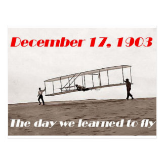 Day We Learned to Fly Postcard
