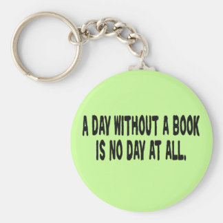 Day Without a Book Keychain