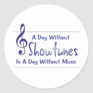 Day Without Showtune Stickers