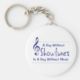 Day Without Showtunes Keychain