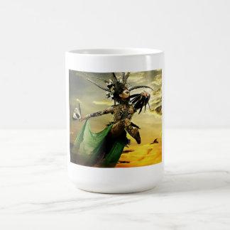 dayak culture indonesian classic white coffee mug