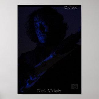 Dayan - Dark Melody Poster