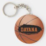 Dayana Personalized Basketball Keychain / Keyring