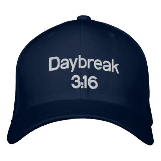 Daybreak 3:16 Hat Embroidered Hats